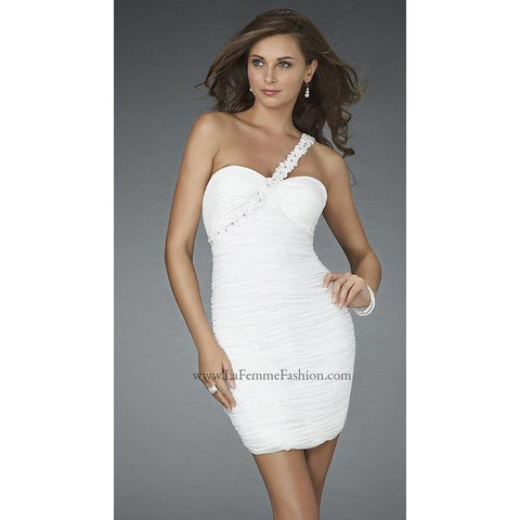 La Femme 14612 White 2 - Move Over Princess
