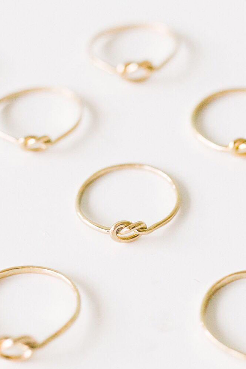 "Ring ""Knot"" - EYD x Purpose Jewelry"