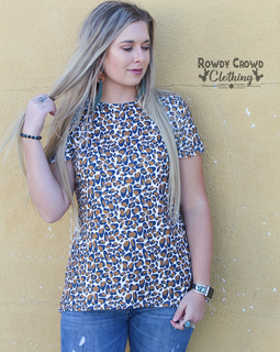 Harvest Leopard Top