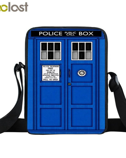 Doctor Who Mini Messenger Bag