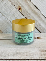 Sea Clay Face Mask with Coconut and Cucumber