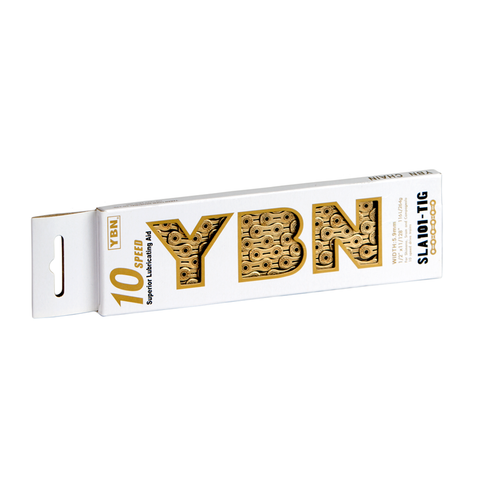 YBN 10sp Ti-Nitride Gold Chain SLA101
