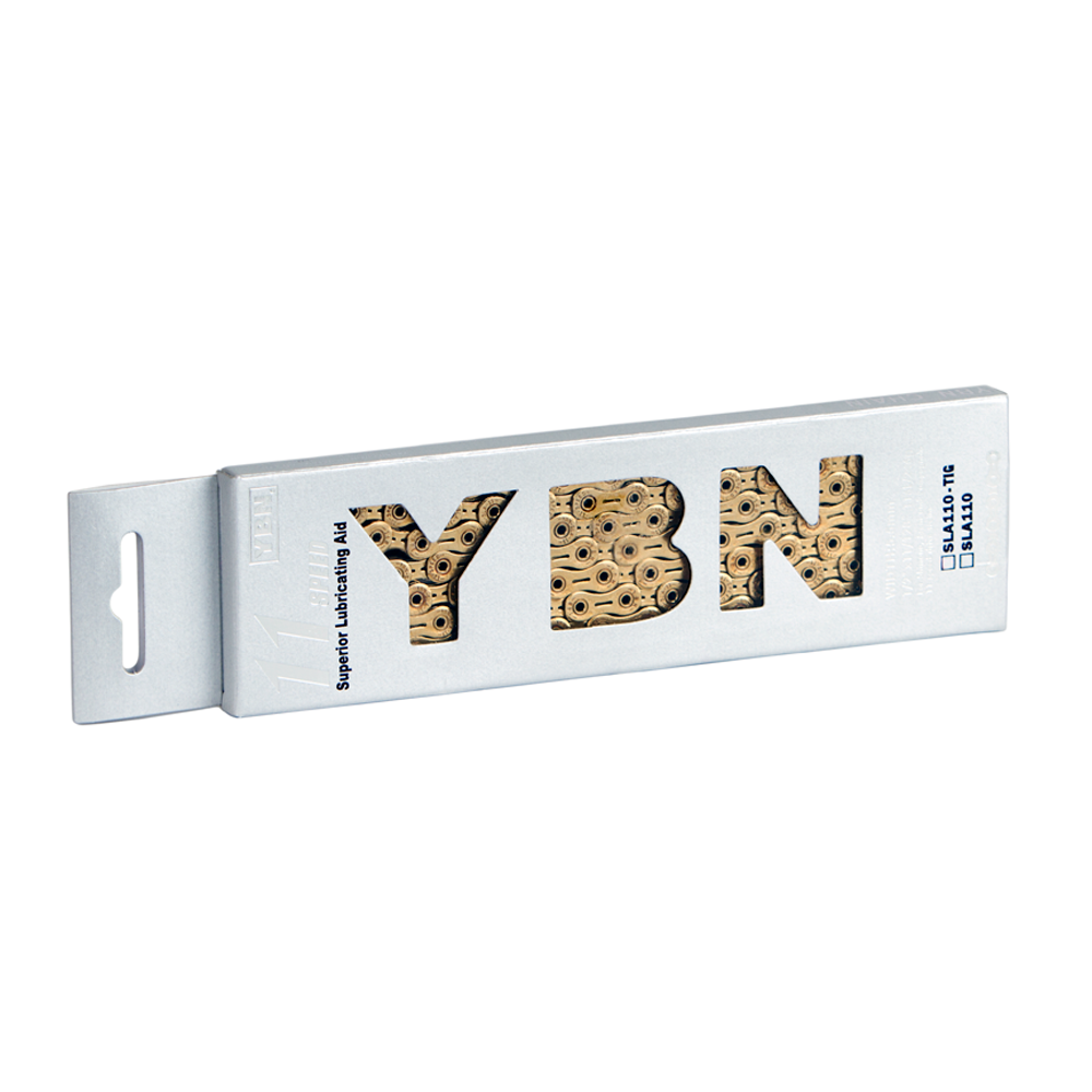 YBN 11sp Ti-Nitride Gold Chain SLA110