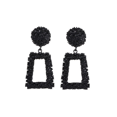 Heavy metal earrings