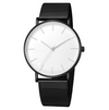 Mesh belt men's watch