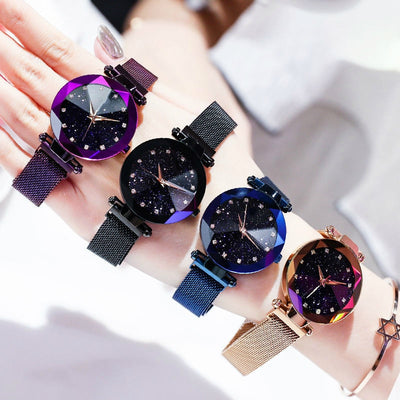 Deluxe Bay Women Watches 2020 Luxury Brand Crystal Fashion
