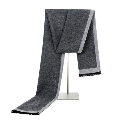 men's warm scarf fashion
