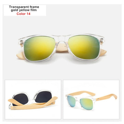Deluxe Bay Bamboo Sunglasses