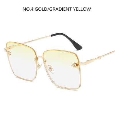 Luxury Square Bee Sunglasses