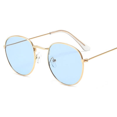 Small Frame Round Sunglasses