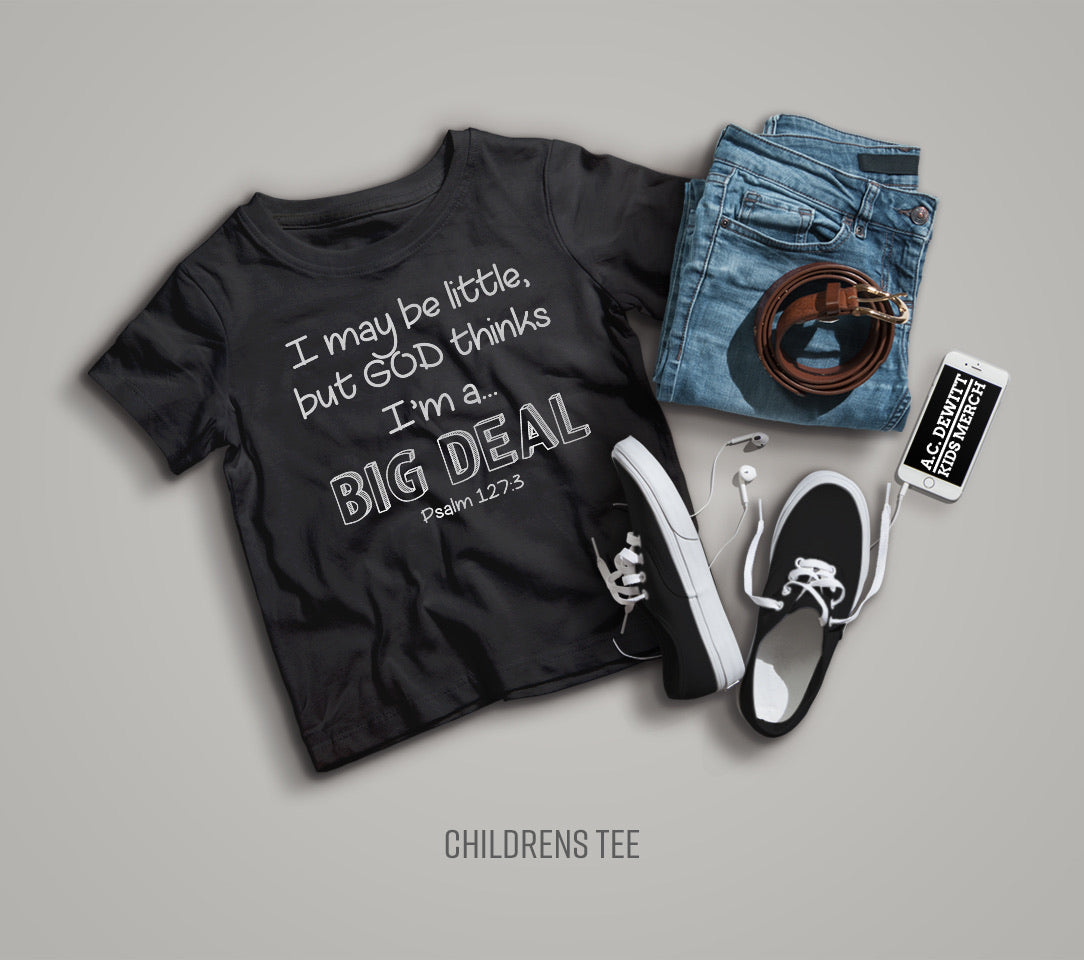 """BIG DEAL"" KIDS UNISEX TEE"
