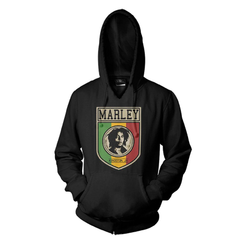 Kingston Jamaica Black Hoodie