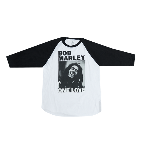 One Love B&W Ladies Raglan