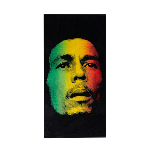 Rasta Face Towel