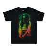 Rasta Leaves Black T-Shirt