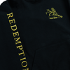 Redemption Washed Lion Black Pullover Hoodie