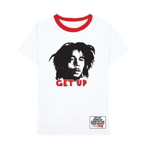 Get Up Stand Up Adult Tee