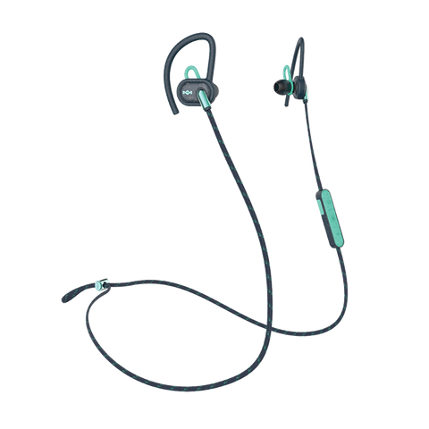 Uprise Teal Earbuds