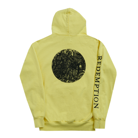 Yellow Redemption Lion Pullover Hoodie