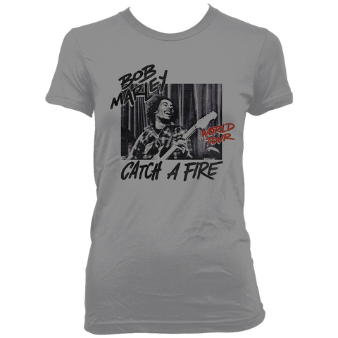 Catch a Fire World Tour Ladies T-Shirt