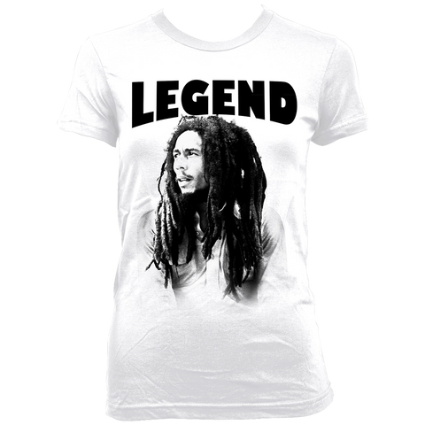 Legend Profile Ladies White T-Shirt