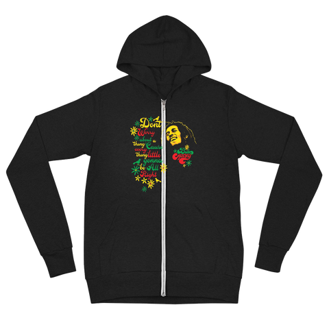 Three Little Birds Ladies Zip Up Hoodie