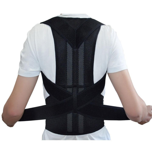 Zenzatas-Magnetic Corset Back Shoulder Posture Corrector Men/Women