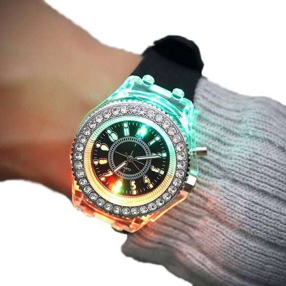 Zenzatas-Led Flash Luminous Watch