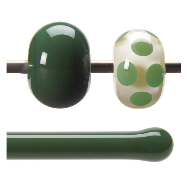 0141 Dark Forest Green Rod - chockadoo - 2