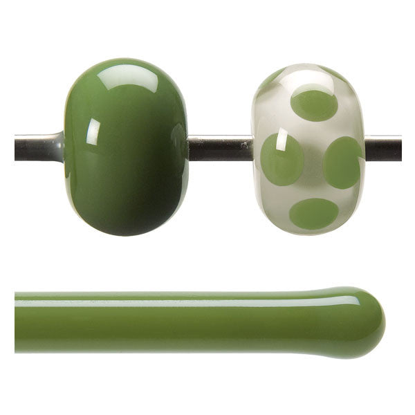 0212 Olive Green Rod - chockadoo