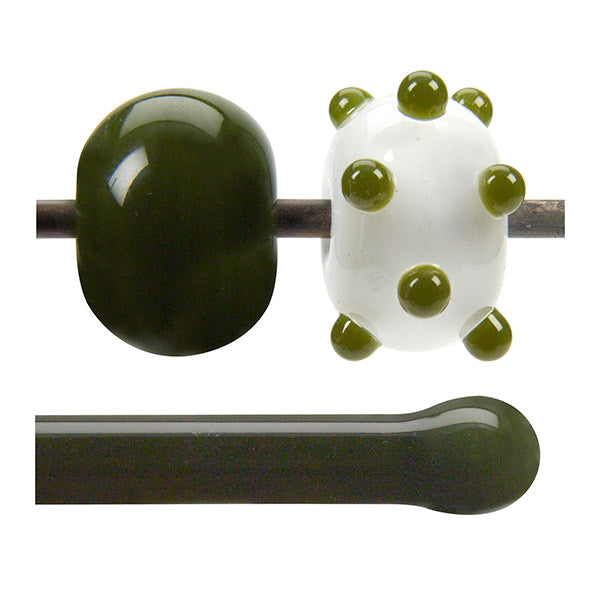 0241 Moss Green Rod - chockadoo