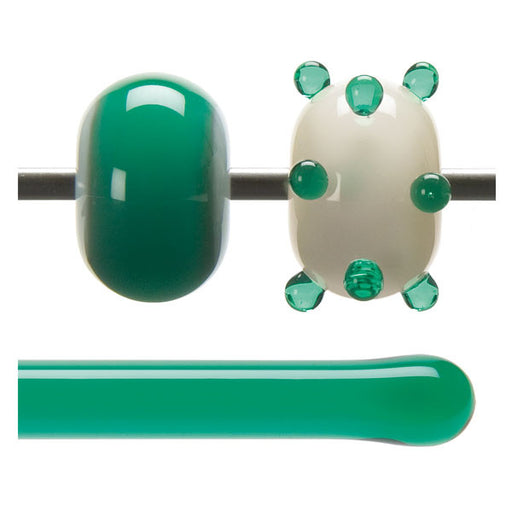 1417 Emerald Green Rod - chockadoo
