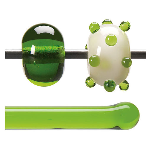 1426 Spring Green Transparent Rod - chockadoo