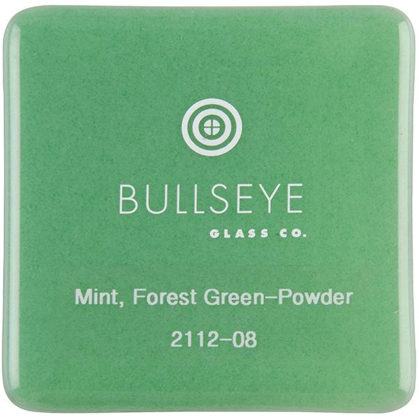 Mint Opal  Deep Forest Green