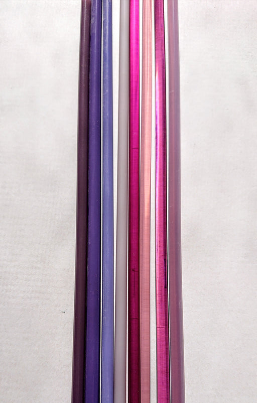 Purple Reichenbach Sampler Rods - chockadoo