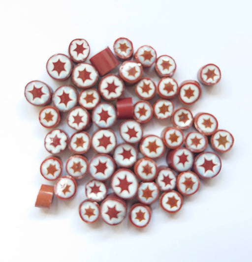 Coffee Burst Millefiori - chockadoo