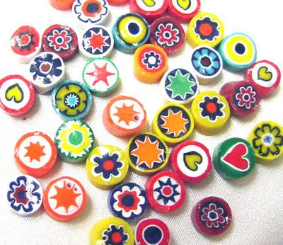 Mixed Millefiori COE104 - chockadoo - 2