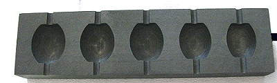 Olive graphite Mould - chockadoo