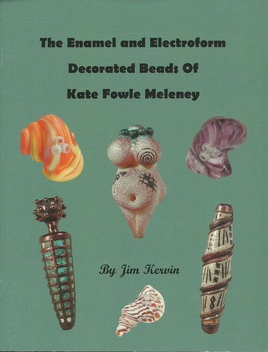 Enamel and Electroform Decorated Beads of Kate Fowle Meleney - chockadoo