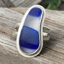 Load image into Gallery viewer, Blue Sky Davenport multicolor sea glass ring
