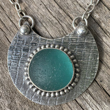Load image into Gallery viewer, Turquoise/green Seaham Bubble Necklace