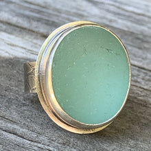 Load image into Gallery viewer, Big English Seafoam Ring