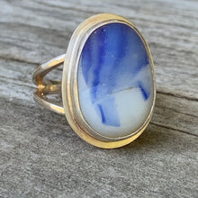 Load image into Gallery viewer, Blue Froth Ring