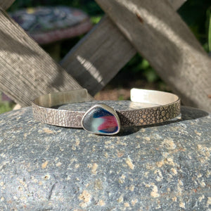 Blue and Rose English Cuff