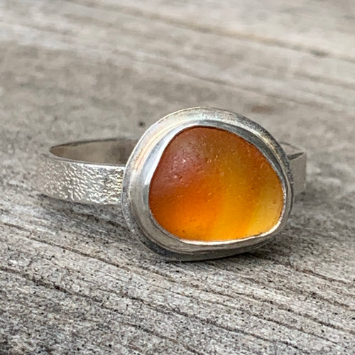 Orange Flash UV Ring