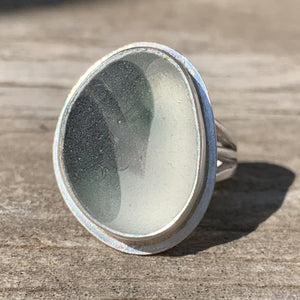 Gray Clouds Ring