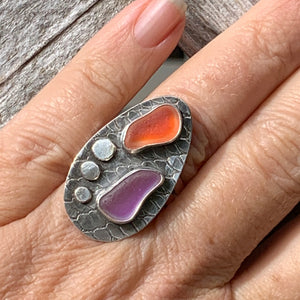 Santa Cruz Sunset Ring