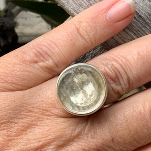 Thames Button Ring