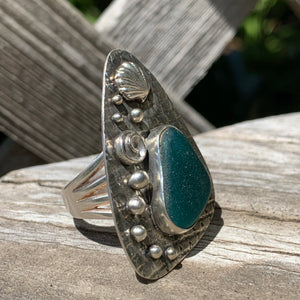 Deep Turquoise Ring