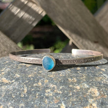 Load image into Gallery viewer, Tiny Blue Tear Mini Cuff